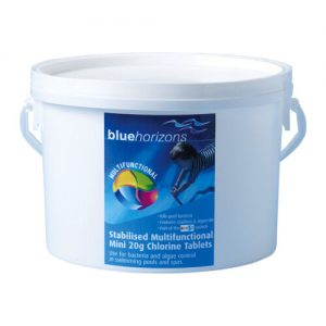 Pool Chemicals 4 U - 5kg Mini Multifunctional Chlorine Tablets 20g - Blue Horizons